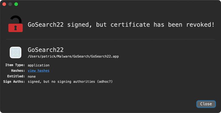 Malware đầu tiên trên M1 được phát hiện