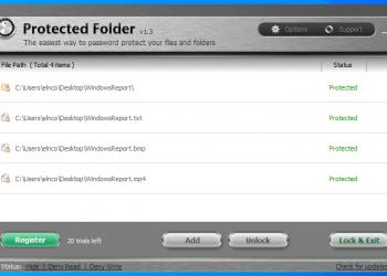 Key IObit Protected Folder - Khóa thư mục, file bằng mật khẩu 1