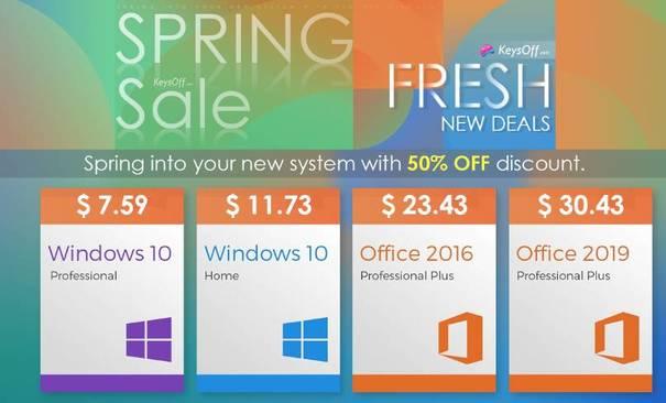 spring sale Keysoff