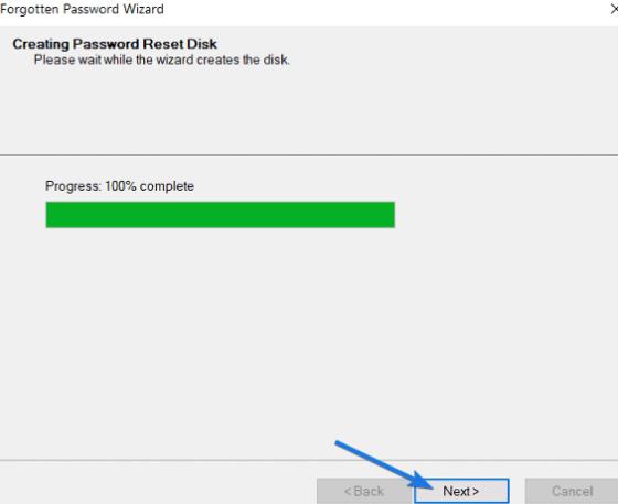 Cách tạo USB Reset Password Windows 10 4