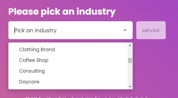 chọn Logo theo một ngành