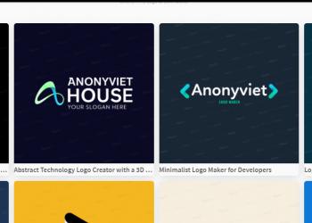 thiế kế logo nhanh không cần biết đồ họa