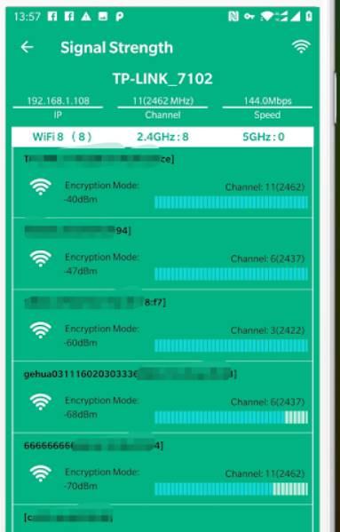 WiFi Signal Strength Meter - Network Monitor phân tích wifi tốt nhất
