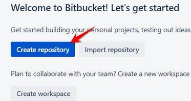 Create reponsitory