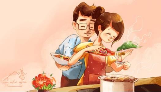 nấu ăn giúp tăng hạnh phúc