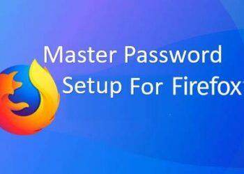 master password firefox