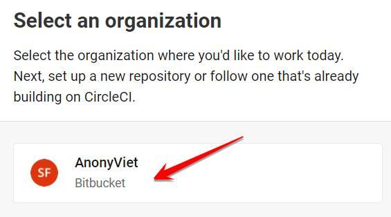 Username Bitbucket