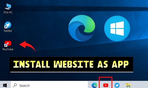 chuyển Website thành App trên Windows