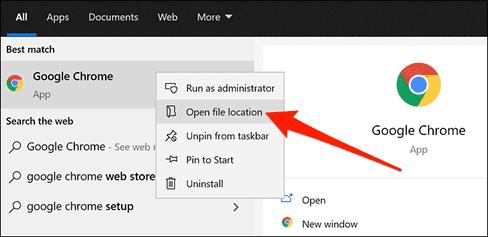 Tạo shortcut chế độ khách trên Google Chrome