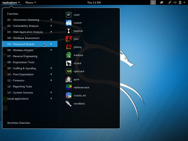Kali Linux là hệ điều hành Linux dành cho Pentester
