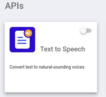 Text to Speech