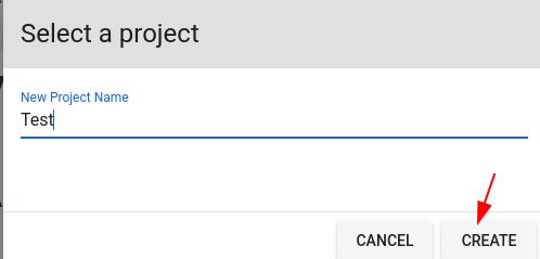 đặt tên project chuyển văn bản thành giọng nói