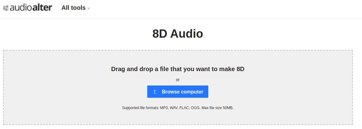 Cách chuyển nhạc bình thường thành nhạc 8D với Audioalter 16
