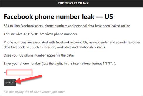 Sự thật về 533 triệu dữ liệu Facebook bị rò rĩ - Cách kiểm tra tài khoản có trong danh sách không 13