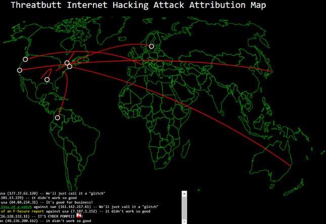 8 Bản Đồ Tấn Công Mạng giúp bạn theo dõi Cyber Attack theo thời gian thực 7