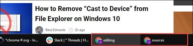 Đặt tên cụ thể cho cửa sổ Chrome 90