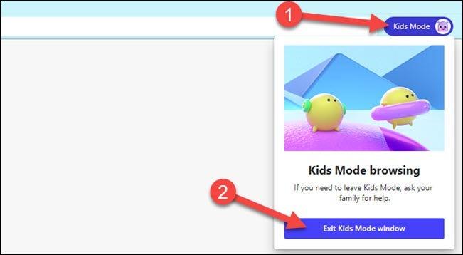 Cách thoát Chế độ trẻ em