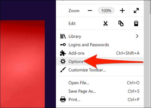Tải File PDF bằngFirefox
