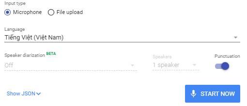 Google Cloud Speech-to-Text chuyen giong noi thanh van ban
