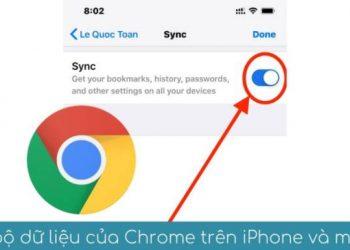 Cách đặt Password cho Chrome Sync để bảo mật khi đồng bộ hóa dữ liệu