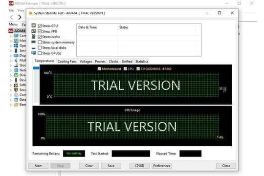 Cách ép xung CPU Stress test