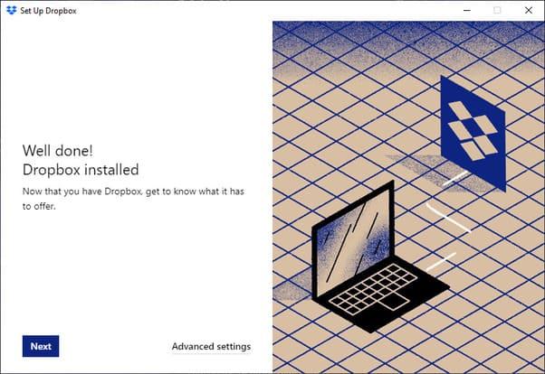 Cách Sao lưu tự động Windows 10 vào Dropbox