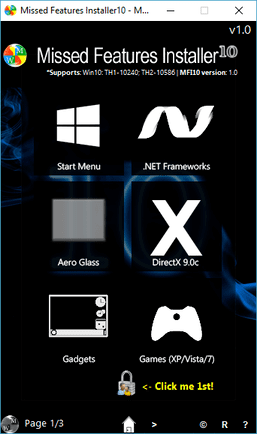 Missed Features Installer
