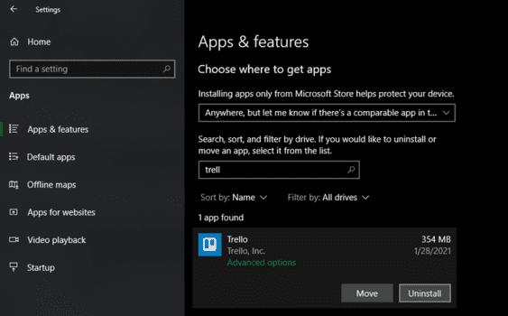 Cách liệt kê các phần mềm đã cài đặt trên Windows 10