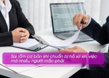 Hồ sơ xin việc của ứng viên hay mắc những lỗi nào?