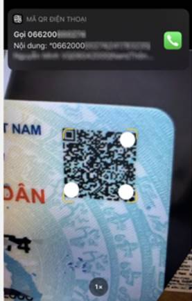 Cách quét mã CCCD gắn chip mới để xem thông tin về bạn
