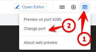 change port vps free