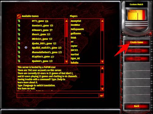 create game ra2 browser 2021
