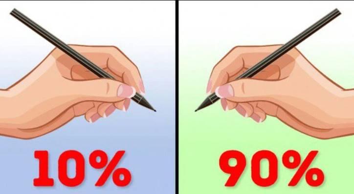 Có phải người thuận tay trái thông minh hơn thuận tay phải?
