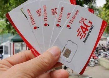Cách nhận 2 sim 4G ITelecom miễn phí 2