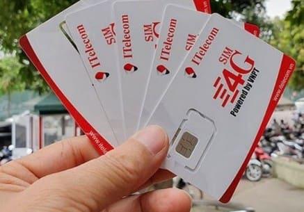 Cách nhận 2 sim 4G ITelecom miễn phí