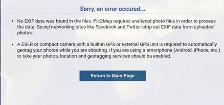 Tìm thông tin chi tiết một bức ảnh bằng PIC2MAP 14