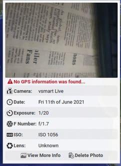 Tìm thông tin chi tiết một bức ảnh bằng PIC2MAP 15