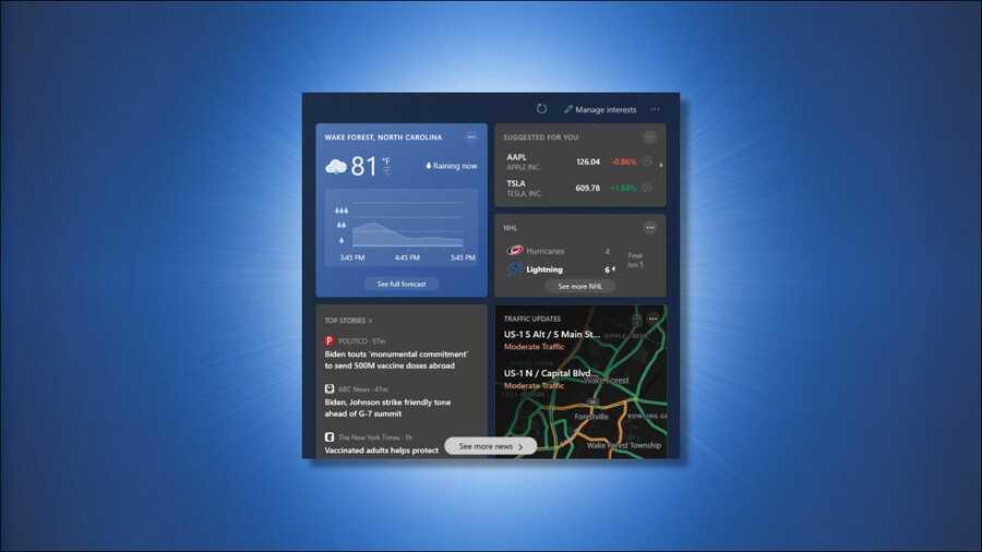 Cách tùy chỉnh cửa sổ tiện ích mới trên Windows 10