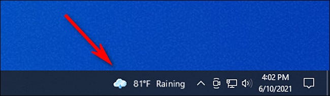 Cách xem cửa sổ tiện ích News và Interests trên Windows 10