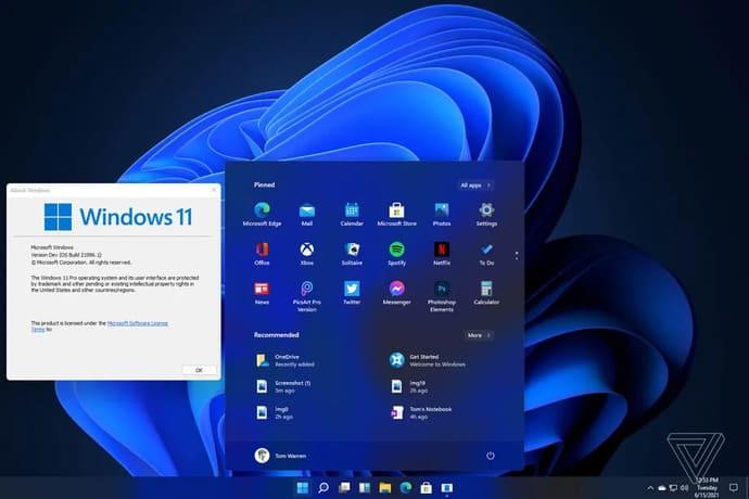 Windows 11 rò rỉ giao diện người dùng mới, Start menu và nhiều thứ khác nữa