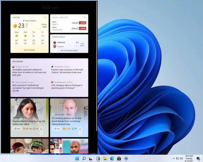 Link Download Windows 11 và giao diện mới xuất hiện 10
