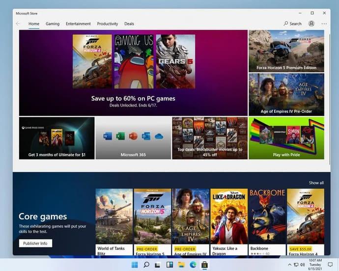Windows Store chưa có gì thay đổi