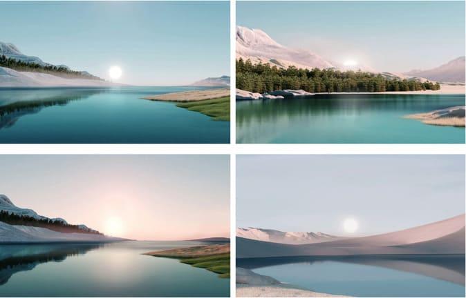 Sunrise download background windows 11 free