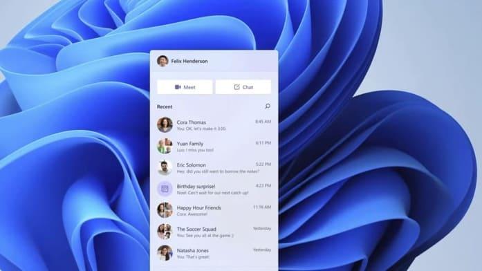 Microsoft biến Teams thành một mạng xã hội trong Windows 11