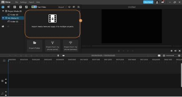 Cách tạo slideshow TikTok bằng iMyFone Filme