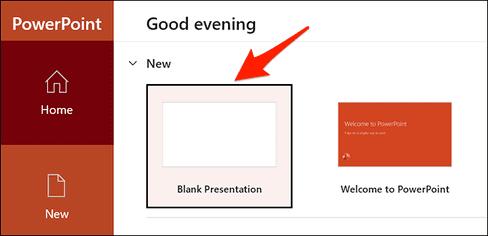 Nhập file Word vào PowerPoint