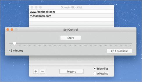 Ứng dụng chặn Website trên macOS