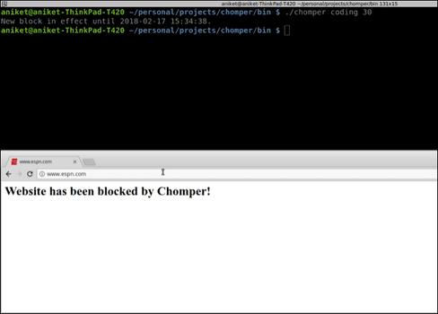 Ứng dụng chặn Website trên Linux