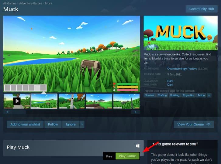 Muck: Game sinh tồn Miễn phí đang HOT trên Steam 7