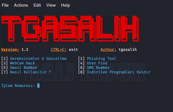 TgaHacking - Bộ công cụ Hack Webcam, Phishing bằng Python 10